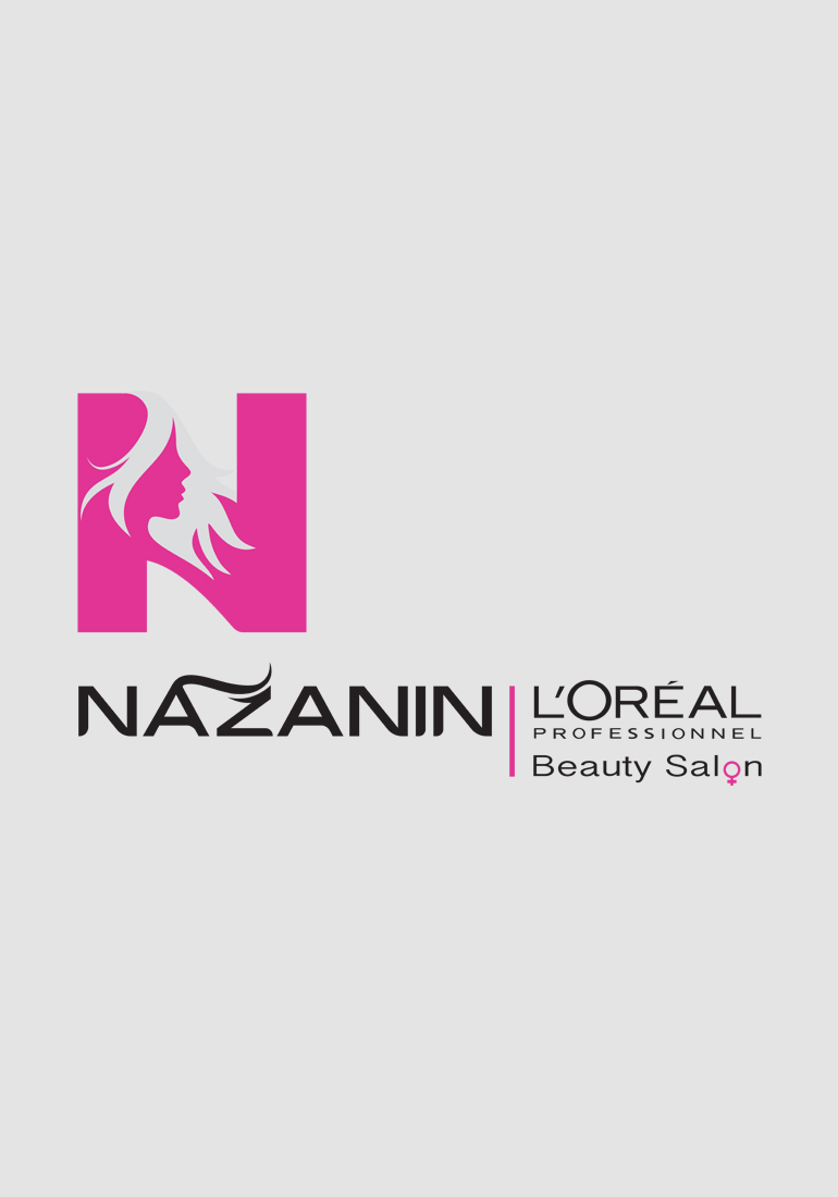 1008 art freelancer group design services logo design, Nazanin Beauty Salon