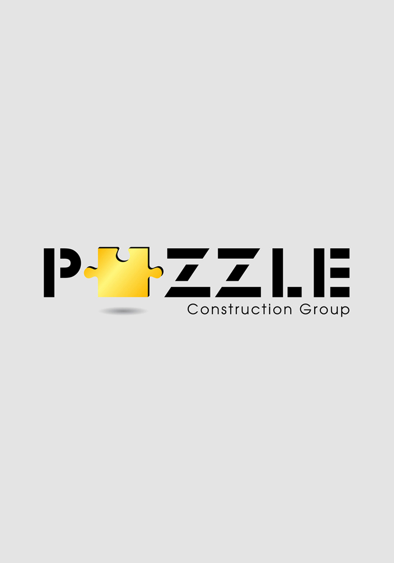 1008 art freelancer group design services logo design, Puzzle Construction Group